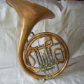 Ed Kruspe French Horn: Model Professor Wendler 88890- 1920's VINTAGE! Very Good Condition!