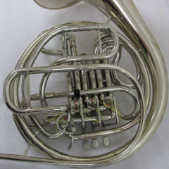 Conn 8D Double French Horn Silver Nickel, pic 2