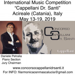 "International Music Competition ""Cappellani Dr. Santi"" - Acireale"