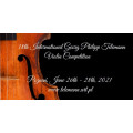 The 18th International Georg Philipp Telemann Violin Competition