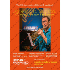 The 5th International Lieksa Brass Week French Horn Competition