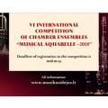 6International Competition of Chamber Ensembles Musical Aquarelle