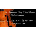 The 16th International Georg Philipp Telemann Violin Competition