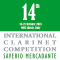 "14th International Clarinet Competition ""Saverio Mercadante"""