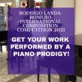 Rodrigo Landa-Romero International Composition Competition 2021
