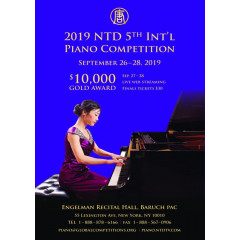 NTD International Piano Competition