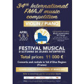 34th International FMAJI Music Competition