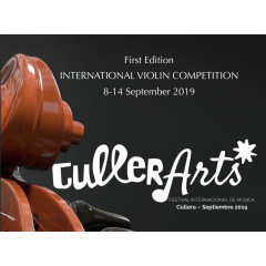 "First International Violin Competition ""CullerArts"" 2019."