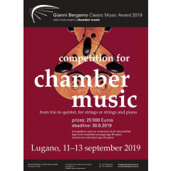 Gianni Bergamo Award 2019 - chamber music competition