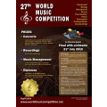 27th World Music Competition 2019