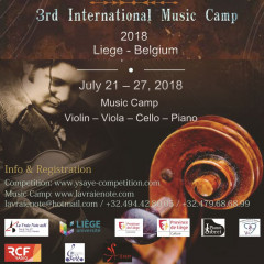 3rd International Music Camp