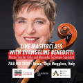 Cello Masterclass with Evangeline Benedetti in Arona, Italy