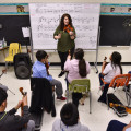 How a refugee's daughter is teaching hope and music to young violinists in Dallas