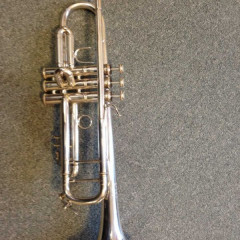Vincent Bach Stradivarius Model 37 Bb Trumpet, Silver Plated, pic 1