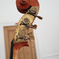 5 String bass by Adrian Vickers, England, pic 3