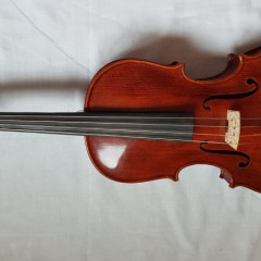 Good quality modern handmade Chinese viola with bow & case, pic 1