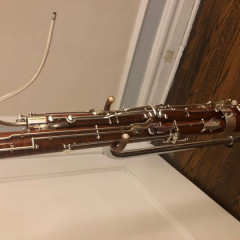 2015 Moosmann Model 150E Professional Bassoon, pic 3