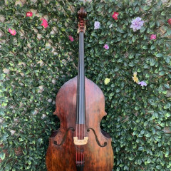Miller 2006 double bass made in England, pic 1