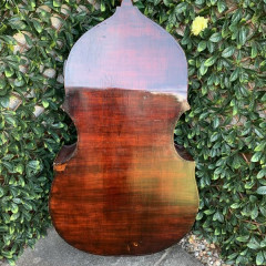 Miller 2006 double bass made in England, pic 3