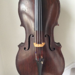 Instrumento Para La Venta 19th Century Bohemian Cello Lob 708mm