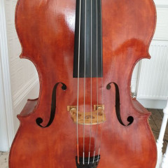 5 String bass by Adrian Vickers, England, pic 1