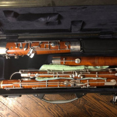 2015 Moosmann Model 150E Professional Bassoon, pic 1
