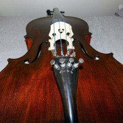 STENTOR MESSINA ORCHESTRAL CELLO. APPROX. 12 YEARS OLD, pic 3