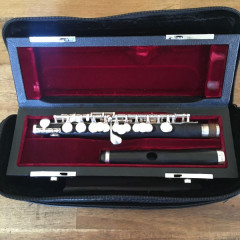 Lillian Burkart Professional Piccolo with clarion headjoint, pic 1