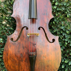 Miller 2006 double bass made in England, pic 2
