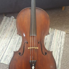 Baroque Cello - Italian, maker unknown, mid 19th c, pic 1