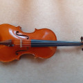 "16 1/4"" viola by Mark Rice 1997, Nottingham (England): £3000. Hiscox hard viola case with cover:£100"