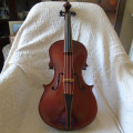 16 1/4 Baroque viola by George Stoppani, Manchester 1986