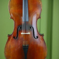 Fine cello by Justin DERAZEY 1880 with internal brands and original label in very good condition!