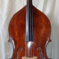 Old Italian double bass made by Paolo Carlini in collaboration with Marino Tarantino