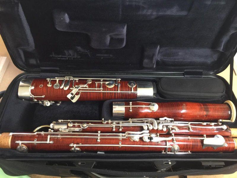 楽器の販売: Heckel Bassoon Num : 11 64X --Moosmann Bassoon M 222 CL