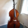 Racz Laslo 3/4 double bass. Hungarian. 1995.