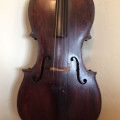 Early to mid 19th century Saxon full size cello
