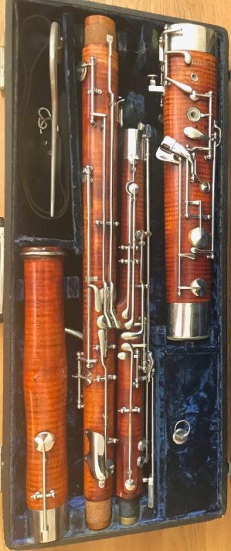 Instrument Sale: Heckel Bassoon, Serial No  10500