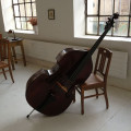 Bohemian Double Bass, ca. 1890. Very warm and dark sound.