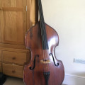 2nd hand 3/4 German Double Bass 19th century