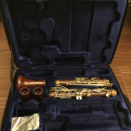 Backun MOBA Bb clarinet cocobolo wood with gold keys