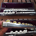 Muramatsu Flute SR Highest Quality Sterling Silver Flute with Soldered Tone Holes