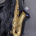 Borgani Vintage Tenor Saxophone with Silver super power neck