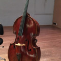 Old solo-double Bass 3/4  Wien ca. 1750, 2 old  Pfretzschner Bows