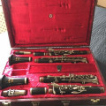Rudall Carte Romilly Rondo Bb and A Matching Pair of Clarinets