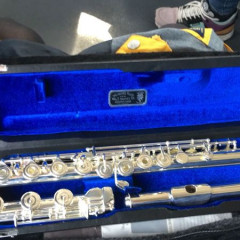 Silver Haynes flute - James Galway Edition - snr 5178 - Open holes - B-foot - C# trill, pic 1