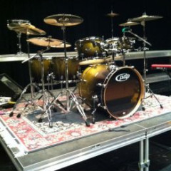 PDP X7 SERIES 5 PC. DRUMSET GOLD TO BLACK SPARKLE FADE, pic 3