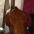about 100 years old double bass stolen in Prague