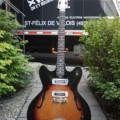 Teisco Del-Ray 1960s sunburst, japan in gigbag