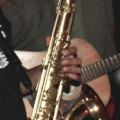 Around 14 years old brushed Series III Selmer tenor saxophone